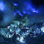 Tips Menikmati Blue Fire di Kawah Ijen